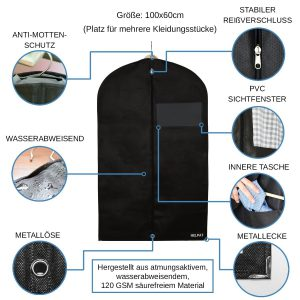 Kleidersack Anzug