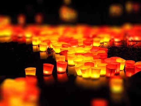 LED Kerzen mit Timer